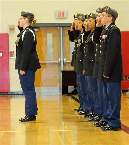 11/19/16 JROTC Competition