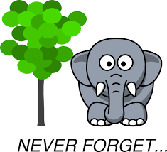 elephants don't forget