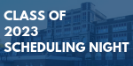 Freshman Scheduling Night is Wednesday, February 20, at 6:00 p.m.