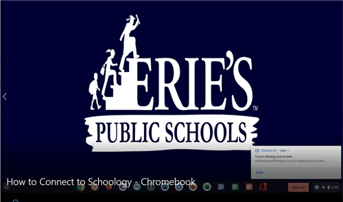 Schoology for Chromebook