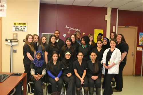 2014-2015 Medical Assisting Class