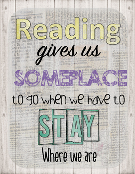 Reading places to go