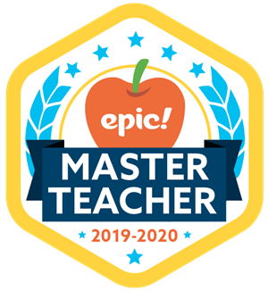 Epic! Master Teacher badge
