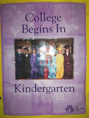 College Begins In KIndergarten