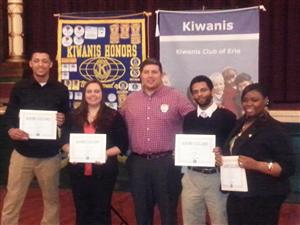 Kiwanis award ceremony